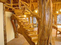 Madera y troncos locales